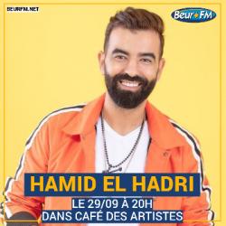 Café des Artistes du 29-09-2020 : Hamid El Hadri