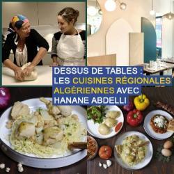 Dessus de tables du 26-09-2020 : Les cuisines régionales algériennes