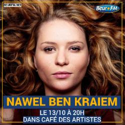 Café des Artistes du 13-10-2020 : Nawel Ben Kraiem