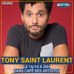 Café des Artistes du 16-10-2020 : Tony Saint Laurent