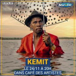 Café des Artistes du 24-11-2020 : Kemit
