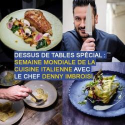 Dessus de tables du 21-11-2020 : Cuisine italienne, avec Denny...