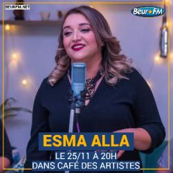 Café des Artistes du 25-11-2020 : Esma Alla