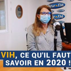 """AVS du 01-12-2020 : """"VIH, ce qu'il faut savoir en 2020 !"""" - Elie Terreaux et Dr Radia Djebbar"""