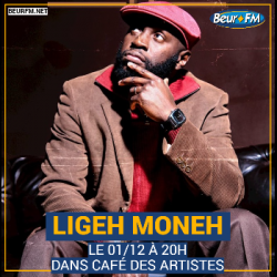 Café des Artistes du 01-12-2020 : Ligeh Moneh