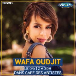 Café des Artistes du 04-12-2020 : Wafa Oudjit