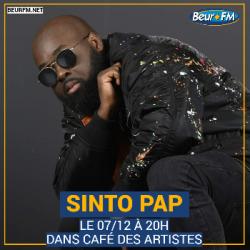 Café des Artistes du 07-12-2020 : Sinto Pap