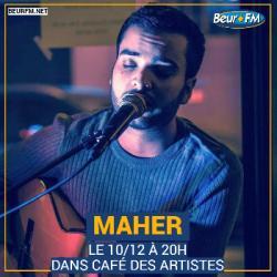 Café des Artistes du 10-12-2020 : Maher
