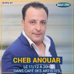 Café des Artistes du 11-12-2020 : Cheb Anouar