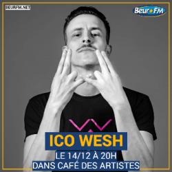 Café des Artistes du 14-12-2020 : Ico Wesh
