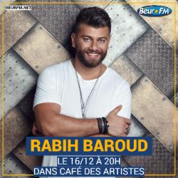 Café des Artistes du 16-12-2020 : Rabih Baroud