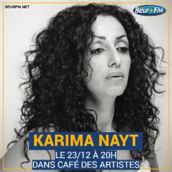 Café des Artistes du 23-12-2020 : Karima Nayt