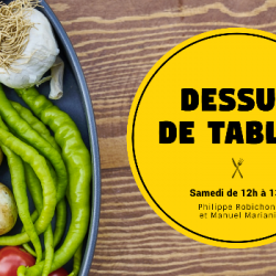 Dessus de tables 20-04-2019