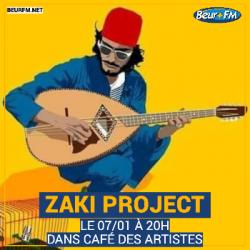 Café des Artistes du 07-01-2021 : Zaki Project
