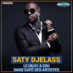 Café des Artistes du 08-01-2021 : Saty Djelass