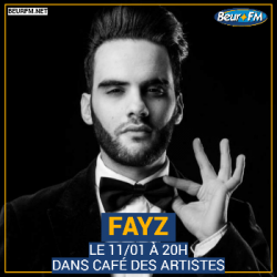 Café des Artistes du 11-01-2021 : Fayz