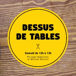Dessus de tables 09-01-2021