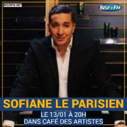 Café des Artistes du 13-01-2021 : Sofiane le Parisien