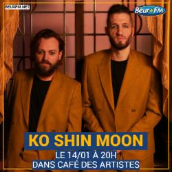 Café des Artistes du 14-01-2021 : Ko Shin Moon