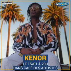 Café des Artistes du 15-01-2021 : Kenor