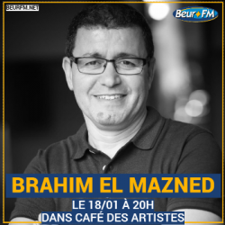 Café des Artistes du 18-01-2021 : Brahim El Mazned
