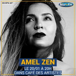 Café des Artistes du 20-01-2021 : Amel Zen