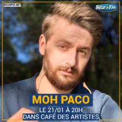 Café des Artistes du 21-01-2021 : Moh Paco