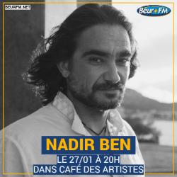 Café des Artistes du 27-01-2021 : Nadir Ben