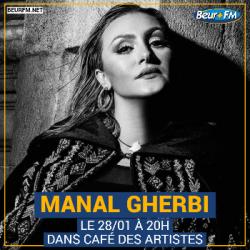 Café des Artistes du 28-01-2021 : Manal Gherbi