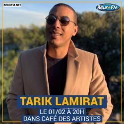 Café des Artistes du 01-02-2021 : Tarik Lamirat