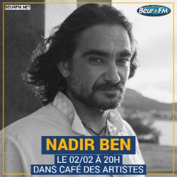 Café des Artistes du 02-02-2021 : Nadir Ben