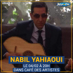 Café des Artistes du 04-02-2021 : Nabil Yahiaoui