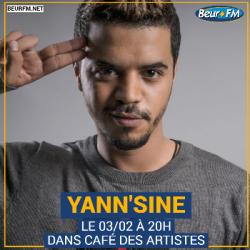 Café des Artistes du 03-02-2021 : Yann'Sine