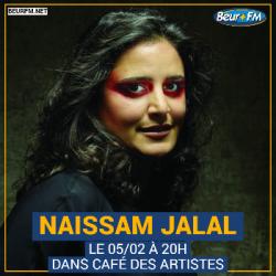 Café des Artistes du 05-02-2021 : Naissam Jalal