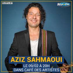 Café des Artistes du 09-02-2021 : Aziz Sahmaoui