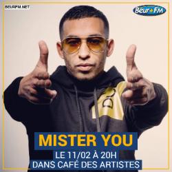 Café des Artistes du 11-02-2021 : Mister You