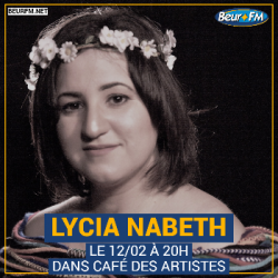 Café des Artistes du 12-02-2021 : Lycia Nabeth
