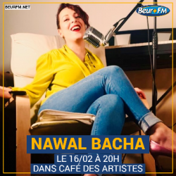 Café des Artistes du 16-02-2021 : Nawal Bacha