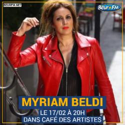 Café des Artistes du 17-02-2021 : Myriam Beldi