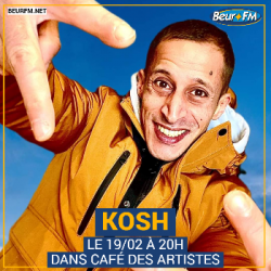 Café des Artistes du 19-02-2021 : Kosh