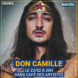 Café des Artistes du 22-02-2021 : Don Camille