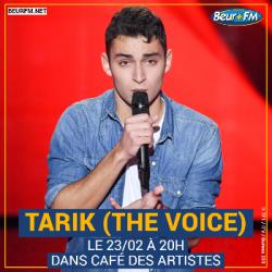 Café des Artistes du 23-02-2021 : Tarik (The Voice)
