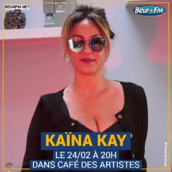 Café des Artistes du 24-02-2021 : Kaïna Kay