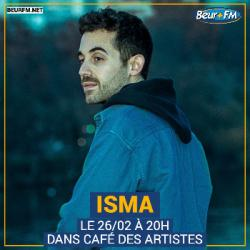 Café des Artistes du 26-02-2021 : Isma