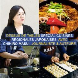Dessus de tables du 06-03-2021 : Les cuisines régionales japonaises