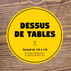 Dessus de tables 10-07-2021