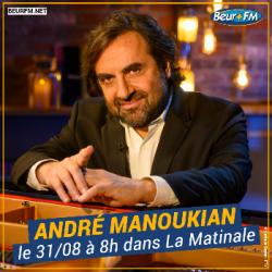 La Matinale du 31-08-2021 : Interview d'André Manoukian